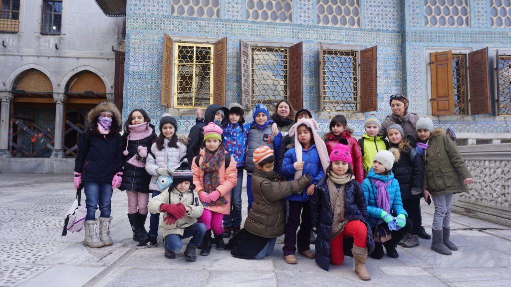 Çocuklara Topkapı Sarayı Gezisi